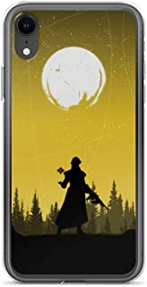 iPhone 7 Plus/8 Plus Case Anti-Scratch Gamer Video Game Transparent Cases Cover Destiny Silhouette Art Warlock Gaming Computer Crystal Clear