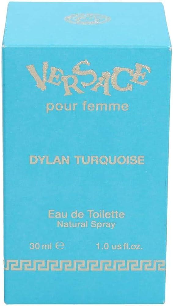 Gianni versace dylan turquoise, eau de toilette,  profumo per  donna,30 ml 7086_9094