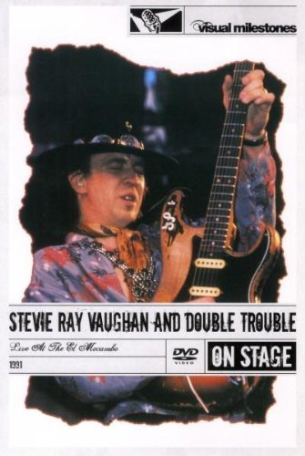 Stevie Ray Vaughan - Live at the El Mocambo - On stage