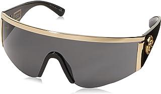 Versace - 100087 Gafas de sol, Gold, 45 Unisex