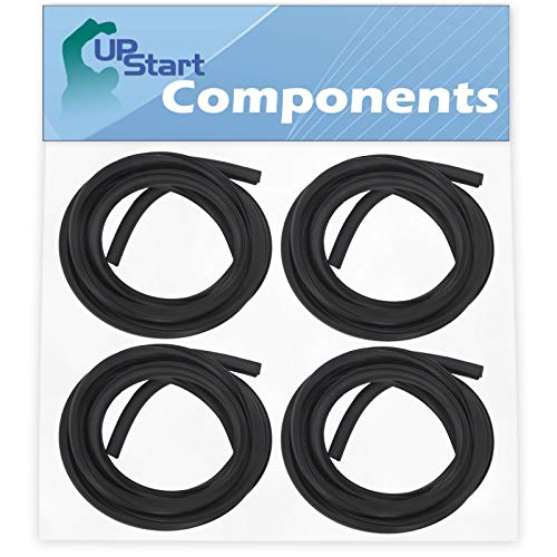 4-Pack 154827601 Dishwasher Tub Gasket Replacement for Frigidaire LFBD2409LF3C Dishwasher - Compatible with 154827601 Tub Gasket - UpStart Components Brand