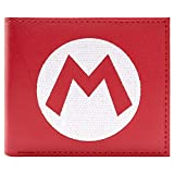 Nintendo Super Mario cappello logo Rosso Portafoglio