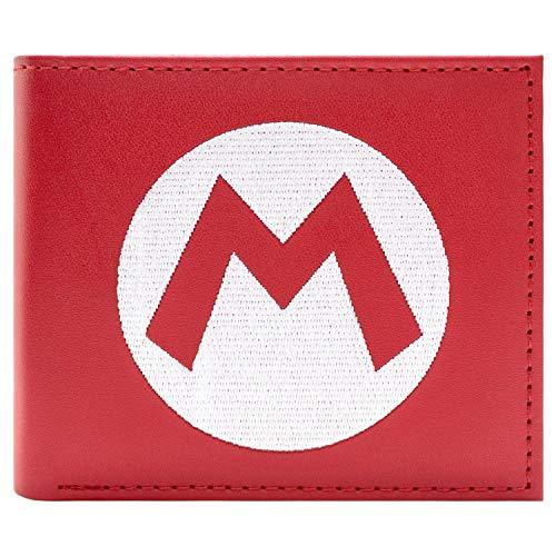 Super Mario Chapeau Logo Rouge Portefeuille