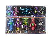 LXYY 4 Unids / Set Five Nights At Freddy'S Figuras De Acción Juguetes Articulaciones Móviles Foxy Freddy Chica FNAF Figuras PVC Modelo Juguete Niños Regalos 13Cm