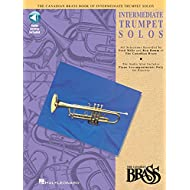 Canadian Brass Book of Intermediate Trumpet Solos: Trumpet and Piano with Online Audio