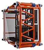 In Win D-Frame Orange Signature Motorcycle Steel Tube ATX Computer Case