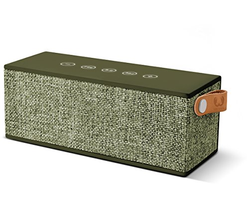 Fresh'N Rebel Rockbox Brick - Altavoz portátil con Bluetooth, color verde