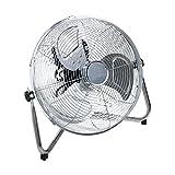 "Oypla Electrical 12"" Inch Chrome 3 Speed Floor Standing Gym Fan Hydroponic"