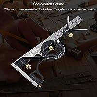 直角定規、耐久性、300mm多機能調整可能な組み合わせスクエア直角定規エンジニア測定ツール調整可能な角度定規(300MM multi-function combination square)