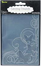 Darice 1216-64 Embossing Folder, 4.25 by 5.75-Inch, Bear Corner Design