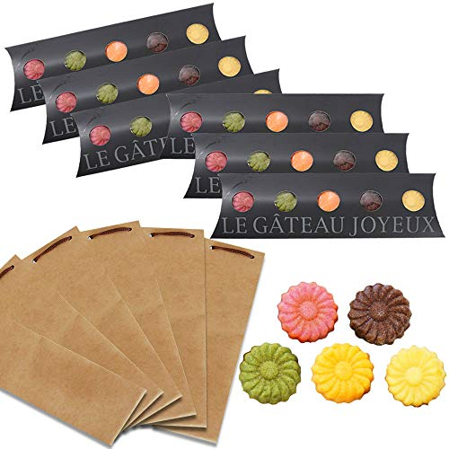 ふみこ農園 和歌山フィナンシェ5個入(5種のお味)×6箱 ショコラ、みかん、ゆず、イチゴ、抹茶が香る焼き菓子 ギフト対応 (6個クラフト袋大)