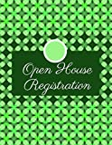 Open House Registration: Open House Listing Registry Sign-In Guest Book, Visitor?s Signature, Prospects Guest Notebook Journal, Gifts for Realtors, ... 110 Pages (Open House Supplies, Band 23) - Graceland Journals