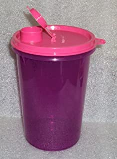 Tupperware Mega Tumbler New Color Exclusive Purple with Pink Seal