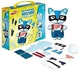 Joustra J46400 - Kit per Cucito e Cucito per Bambini, Motivo: Il Mio Orsetto di Lavaggio Fai da Te, Multicolore