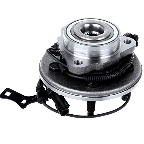 ECCPP Wheel Hub and Bearing Assembly Front 515078 fit for 2000-2019 Ford Explorer Sport Trac Mercury Mountaineer Replacement for 5 lugs wheel hub with ABS 3 Bolt Flange