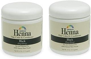 Rainbow Research Henna Persian Black 4 Oz, 2 pack