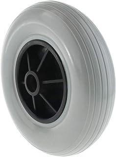 Fenteer - Rueda de repuesto para silla de ruedas (20,3 cm)