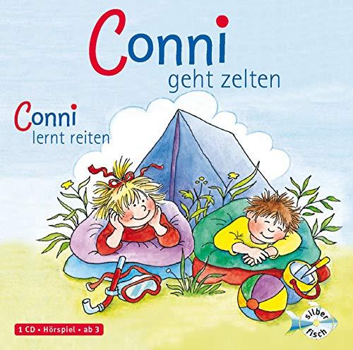 Schneider, Liane : Conni geht zelten / Conni lernt reiten, 1 Audio-CD: 1 CD
