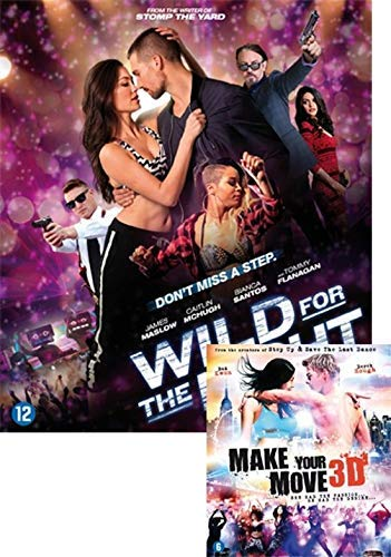 48 Hours to Live 3D / Make Your Move 3D ( Wild for the Night / Make Your Move ) ( 48 Hours to Live ) (3D) [ Origen Holandés, Ningun Idioma Espanol ] (Blu-Ray)