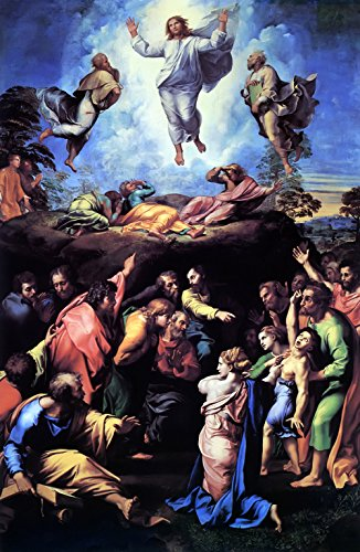 Raphael - The Transfiguration, Size 16x24 inch, Poster art print wall décor