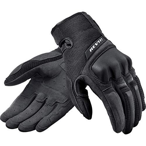 REV'IT! Motorradhandschuhe kurz Motorrad Handschuh Volcano Handschuh schwarz 4XL, Herren, Tourer, Ganzjährig, Textil