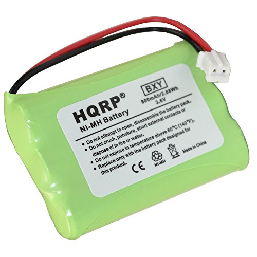 HQRP 700 mAh Batterie pour GRACO 2795, 2795DIG1, 2795DIGI1 Imonitor Baby Monitor numérique, 3SN-AAA75H-S-JP2/89-1323-00-00