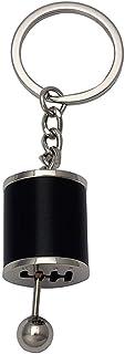 Eleganter Schlüsselanhänger mit Schlüsselanhänger, kreativ, für Autoteile, Schwarz