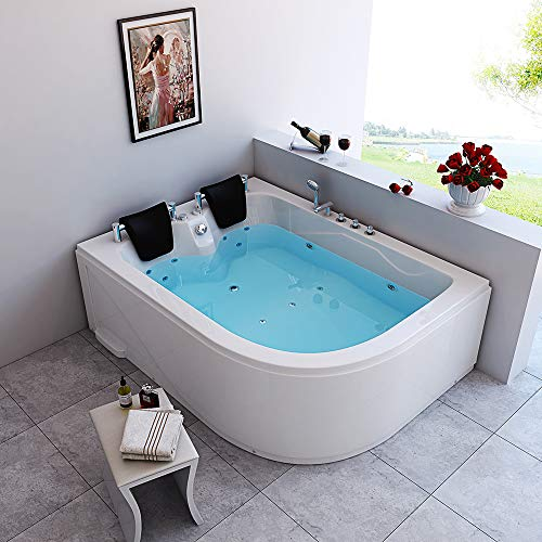 Home Deluxe Blue Ocean XL Whirlpool, inkl. komplettem Zubehör (rechts) - 2
