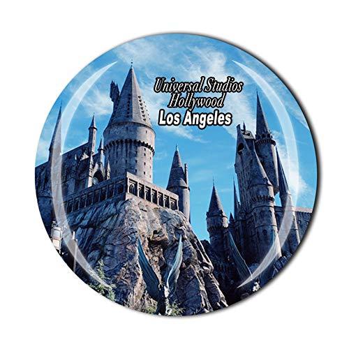 Universal Studios Hollywood Los Angeles California USA Aimant de réfrigérateur Souvenir Cadeau Décor de réfrigérateur