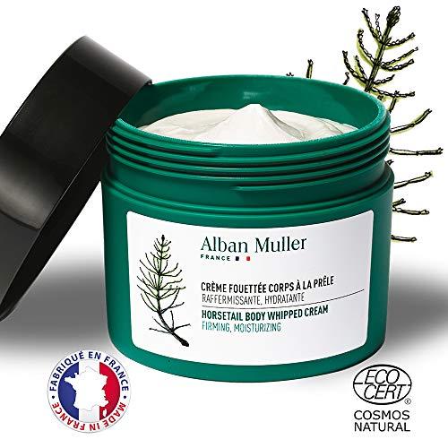 Soin Corps Raffermissant Hydratant Nourrissant Naturel I Alban Muller   Crème Fouettée Corps à la Prêle - Certifié Ecocert - 200ml