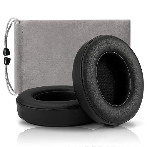 Replacement Ear Pads Cushions for Studio,Earpads Cover Compatible with Beats Studio 2 Wireless Wired and Studio 3 Headphones by Dr.DRE 1 Pair (Black)