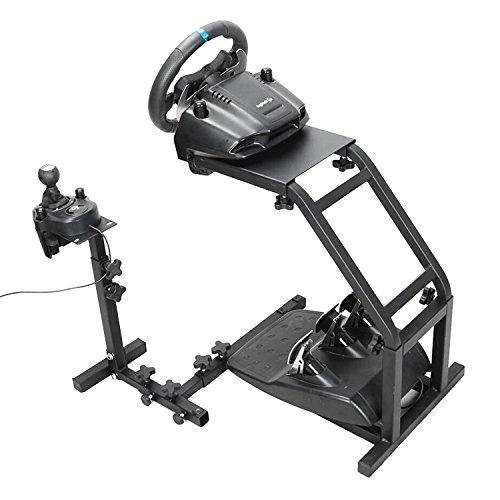Autovictoria Simulador de Carrera Soporte de Volante de Carrera para Logitech G25 G27 y G29 no Incluye Volante y Pedales (G29 G27 G25)