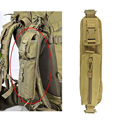 Gexgune Taktische Molle Zubehör Tasche Rucksack Schultergurt Tasche Jagd Werkzeuge Beutel (2 Farbe optional)