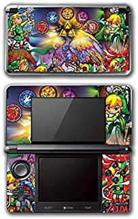 Legend of Zelda Link Wind Waker Stained Glass Video Game Vinyl Decal Skin Sticker Cover for Original Nintendo 3DS System by Vinyl Skin Designs