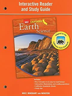 Holt Science & Technology: Interactive Reader Study Guide Grade 7 Earth Science