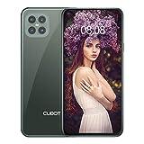 CUBOT C30 Smartphone ohne Vertrag 8 + 128 GB,48MP AI Quad-Kamera,6,4 Zoll FHD Punch-Hole Bildschirm, 4200mAh Akku, Globales 4G LTE Dual SIM Handy Android 10.0 NFC Face ID Fingerabdruck (Twilight Grün)