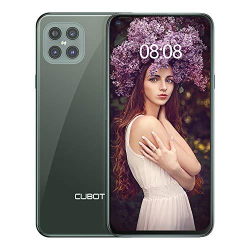 CUBOT Smartphone Android 10 (15,7cm (6,4 Zoll) 256GB interner Speicher, 8GB RAM, 4 Kameras, 4200mAh, Dual SIM) - Deutsche Version C30 (Twilight Grün)