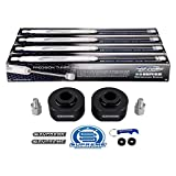 Supreme Suspensions - 2' Front Lift Kit for 1999-2020 Ford F250 F350 Super Duty 2WD   Front Lift Spring Spacers + 3/4' Stud Extenders + Full Set of ProComp ES9000 Performance Shocks