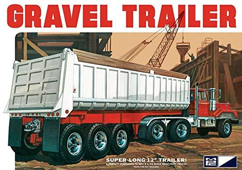 MPC 3-Axle Gravel Trailer 1:25 Scale Model Kit