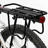 N\C Portaequipajes Trasero para Bicicletas, portaequipajes de...