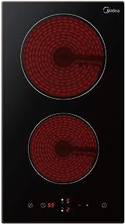 Midea Ceramic Hob MCHD301 Domino 30cm Schott Glass Black finish, 1 Year Warranty