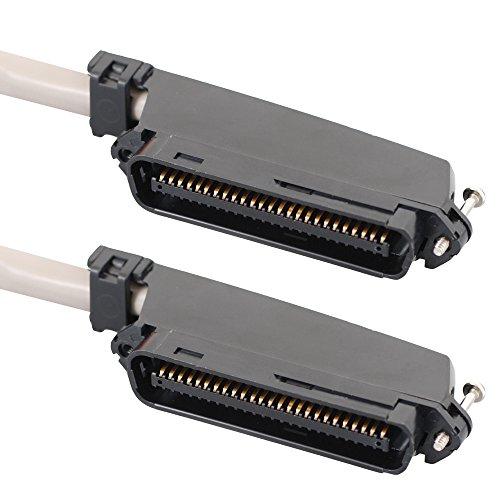 ICC CAT3, 5ft 1.5m CAT3U/UTP (UTP) grau Netzwerk-Kabel–Netzwerk-Kabel (5FT, 1,5m, CAT3, U/UTP (UTP), 50-pin Telco, 50-pin Telco, grau)