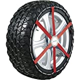 Michelin 92302 Catene da neve in tessuto Easy Grip J11, ABS e ESP...