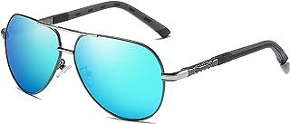 نظارات شمسية مستقطبة مرنة للرجال بخاصية سبرينغ ليغ، نظارات شمسية ملونة للصيد