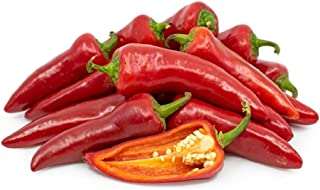 David's Garden Seeds Pepper Chili Fresno 1996 (Red) 50 Non-GMO, Organic, Heirloom Seeds