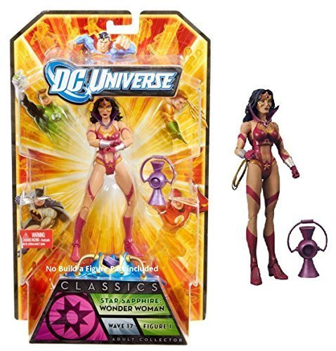 DC Superheroes, Anti-Monitor Wave DC Universe Classics Star Sapphire Wonder Woman Collectible steht No BAF Anteil