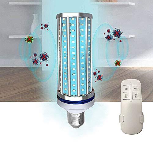 UV-Desinfectie En Sterilisatie Lamp 60W Embedded Binnenplaats Entry UV + Micro Ozon UV Lamp Met Afstandsbediening Schakelaar Voor Outdoor Courtyard Corridor (3Pcs)