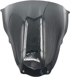 XCJ Parabrisas de Motocicleta Motocicleta ABS Parabrisas De Pantalla Escudo Deflector De Viento Fit For Aprilia RS50 RS125 RS250 1999-2005 2000 2001 2002 2003 2004 RS 50 125 250 FF Parabrisas Claro