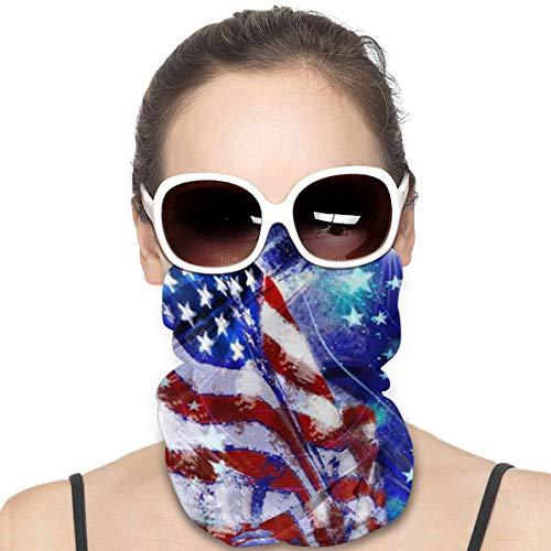 HomeLEE Kleurrijke Colombiaanse Vlag Unisex Volledige Coverage Buis Gezicht Masker Bandanas UV Bescherming Hals Gaiter Hoofdband, UPF 50+ Stof