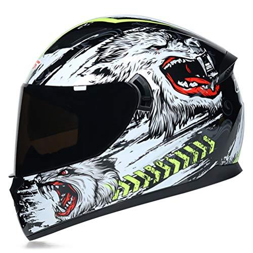 Modulare Motorradhelme für Herren Motorradhelm Half Shell Low Profile Motorradhelm Aufkleber Integralhelme Mountainbike Motorradhelm Klappbar